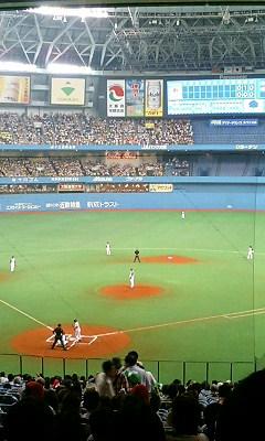 大阪ドームのええとこです。