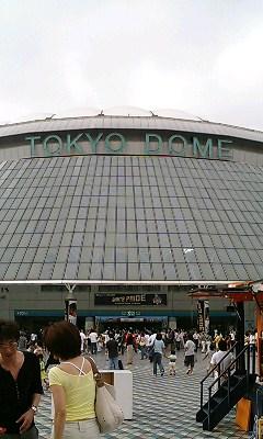 来たで東京ドーム!
